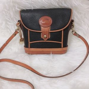 Vtg Dooney & Bourke Mini Dover Case Rare Bag
